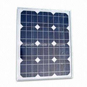 25W Monocrystalline Solar Panel (SW025M)