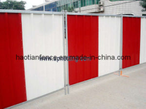 Steel Hoarding Panels pictures & photos