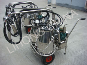 Stainless Steel Portable Milking Machine pictures & photos