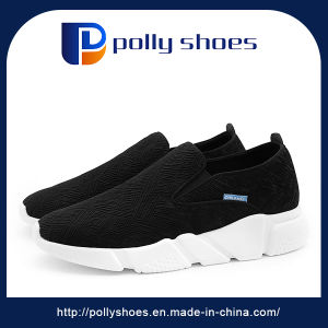EUR35-45 Hot Sale Black School Sneaker Running Shoes Sports Shoes pictures & photos