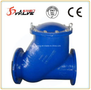 Flanged Ends Ball Check Valve Made of Nodular Cast Iron pictures & photos
