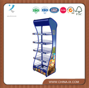 Customized Metal Wire Display Supermarket Rack pictures & photos