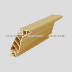Waterproof WPC Closet Decoration Profile Cornice (DJ-8570) pictures & photos