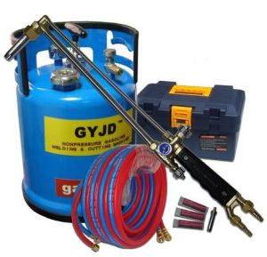Gyjd Handgrip Oxy Gasoline Cutting Torch (GY30) Vs Acetylene Cutting Torch