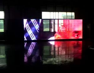 P20 LED Video Wall/Soft Flexible LED Curtain for Stage Lighting (P12.5, P16. P20 LED net screen) pictures & photos