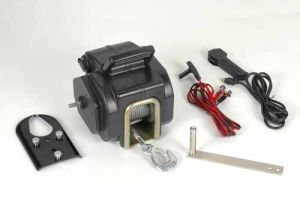 DC 12V Portable Winch with 3500lbs Pulling Capacity pictures & photos