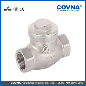 Stainless Steel 304 Swing Check Valve or Water