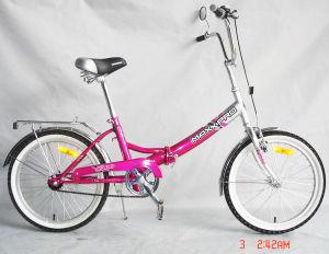 "20""Pink Folding Bike"