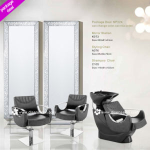 Salon Chair, Washing Chair, Salon Mirror (Package Deal NP224) pictures & photos