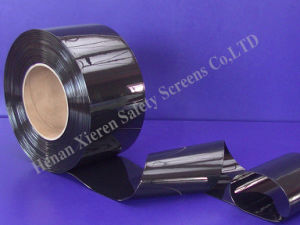 PVC Strip Curtains Solid Black pictures & photos