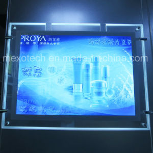 Cosmetic Advertising Board LED Slim Acrylic Light Box (CSH02-A3L-12) pictures & photos