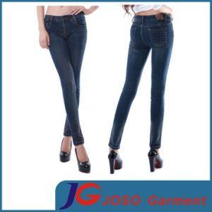 China Factory Lady Jean Pants Denim Trousers (JC1229) pictures & photos