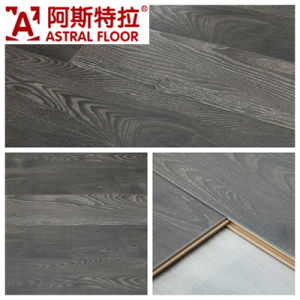 12mm Silk Surface (No-Groove) Laminate Flooring (AD1118) pictures & photos