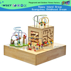 Wooden Fancy Beaded Game Educational Toy for Kid (HD-16905C) pictures & photos