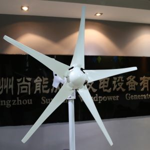 400W 12/24V Wind Turbine Generator (MINI 5) pictures & photos