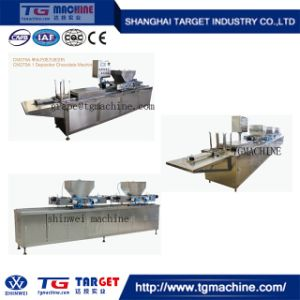 Three Models Semi-Automatic Chocolate Candy Moulding Line pictures & photos
