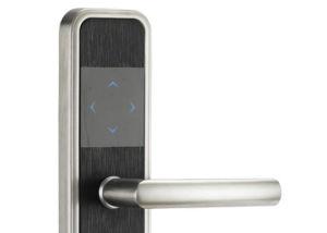 Chrome Zinc Alloy RFID Card Hotel Smart Door Lock pictures & photos