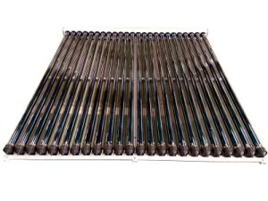 Heat Pipe Solar Collector with Curve Manifold