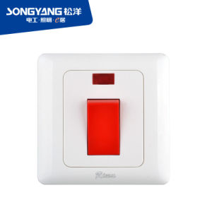 I Series Low Price PC Material White Color 45A Dp Switch
