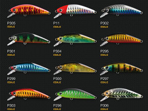 Plastic Fishing Lure (Agile Minnow 50) pictures & photos