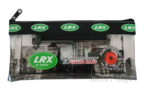 Printed PVC Zipper Pencil Bag with MOQ 3000 (hbpeb-3) pictures & photos