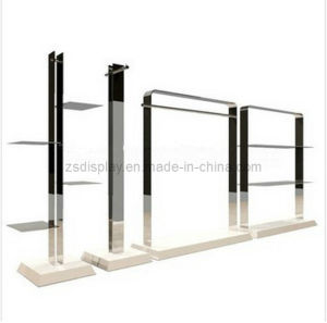 Wall Shelf /Stainless Steel Display Rack Shelf for Clothes (ZS-130)
