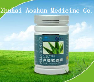 Aloe Vera Extract Soft Capsule for Adult with Gsp (AH-16-039) pictures & photos
