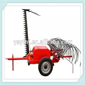 Farm Machine Grass Mower with Rake with Good Price