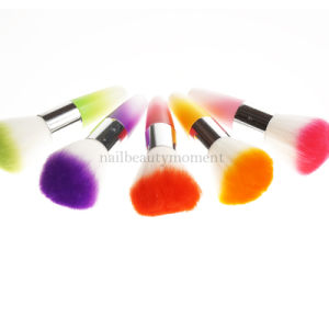 Colorful Art Nail Dust Cleaning Brush Manicure Beauty Tools (B045)