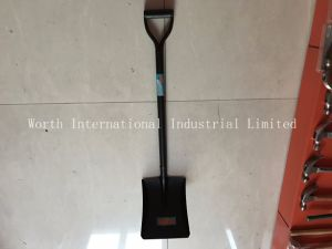 One Piece Steel Handle Shovel pictures & photos