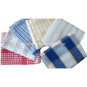 100% Cotton Tea Towel Dish Cloth Duster pictures & photos