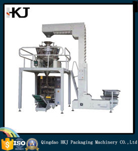 Automatic Short Pasta Macaroni Weighing and Packing Machine with 10 Heads Weighers pictures & photos