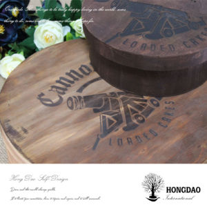 Hongdao Round Wooden Cake Box for Sale pictures & photos