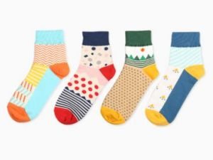 Fashion Cotton Knee High Unisex Sock pictures & photos
