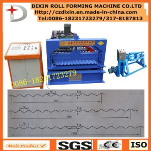 Dx Profile Corrugated Roof Making Machine pictures & photos