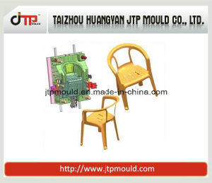 Two Colors Adult Use Arm Chair Plastic Chair Mould pictures & photos