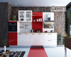 MDF Kitchen Cabinets Made in China pictures & photos