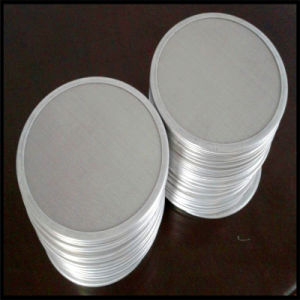 Customized Woven Wire Mesh Sintered Extruder Screen Filter Discs pictures & photos