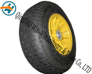 16inch Pneumatic Rubber Wheel with Plastic Rim (6.50-8) pictures & photos