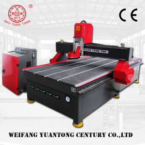 CNC Router 4 Axis with 3kw Hsd Air Cooling Spindle pictures & photos