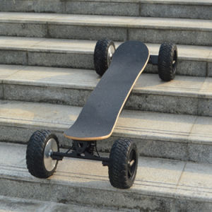 off-Road 4 Wheels Drifting Board 1000X2w Powered Electric Skateboard pictures & photos