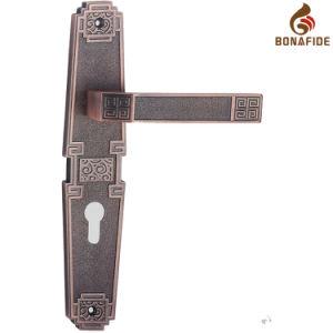 High Quality Full Zinc Door Lock Handle-045 pictures & photos