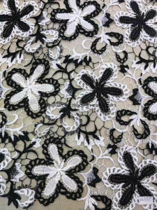 Polyester Lace Fabric Garment Accessorie for Dress 0010 pictures & photos