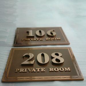 Hetel Doorplate Signage Building Signage Sign pictures & photos
