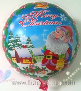 Christmas New Year Star Shape Custom Printing Decoration Foil Balloon pictures & photos