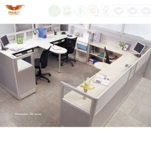 New Design Cross Design Office Cubicles pictures & photos
