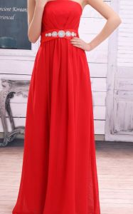 Strapless High Waist Elegant Cocktail Dress (XYD-082)
