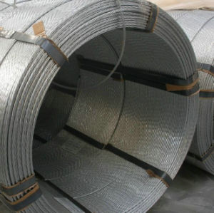 ASTM A741 Standard Zinc Coated Galvanized Steel Wire Rope pictures & photos