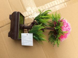 Artificial Plastic Plants and Flowers of Small Bonsai Plants Gu201705 pictures & photos