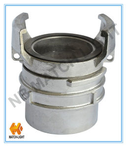 Gravity Casting Female Thread Aluminium Fire Coupling for Weling Bw pictures & photos